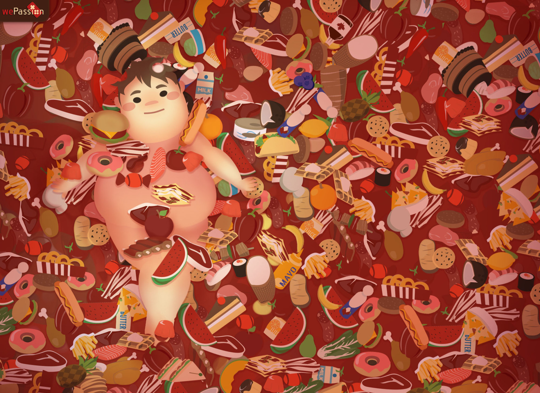 Feed The Fat Wallpaper