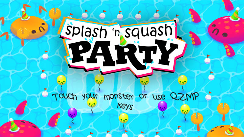 Splash and Squash Party